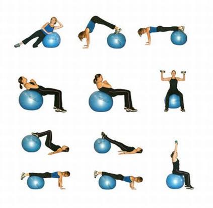 pilates boll