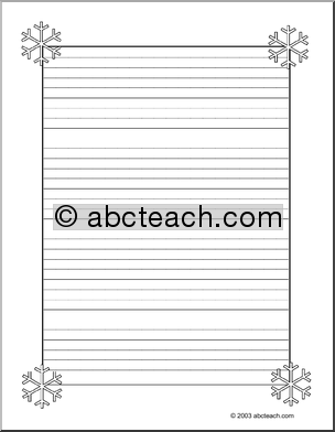 Elementary Handwriting Paper