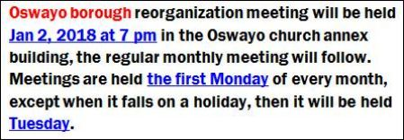1-2 Oswayo Borough Meetings Notice