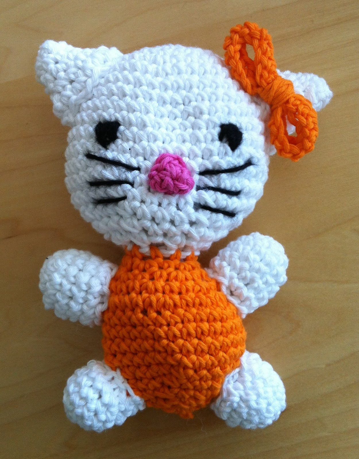 Amigurumi Kitty Anleitung : Lils world