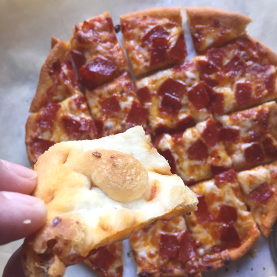 Food Pusher: Fried Pizza Crust