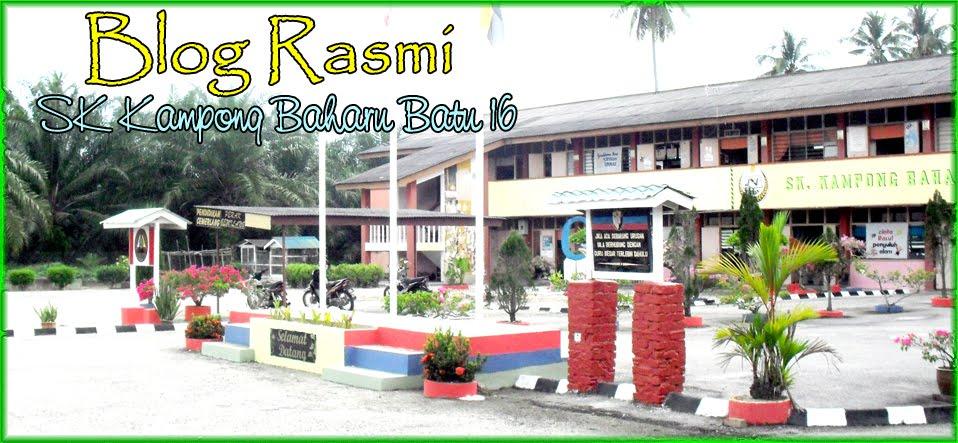 .: SK Kampong Baharu batu16 :.