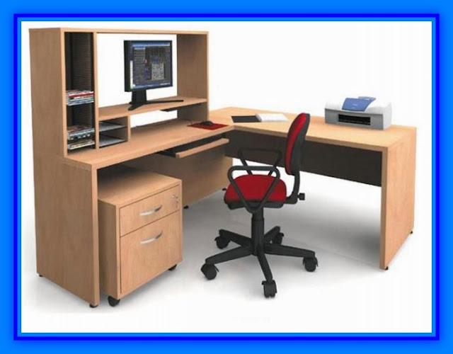 Escritorio para oficina modernos de melamina web del for Medidas ergonomicas de un escritorio