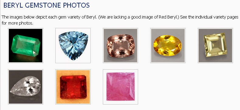 Beryl Gemstone Picture