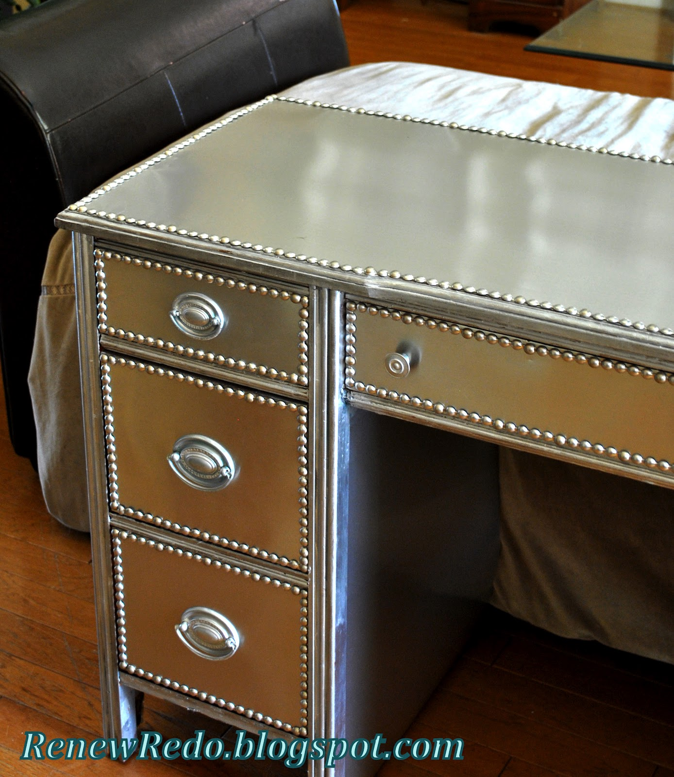 Renew Redo Stainless Steel Look Furniture How To