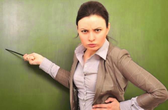 wanita yang mudah marah