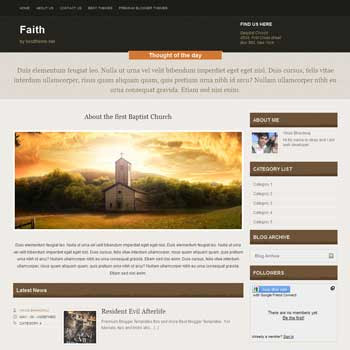 Faith blogger template. movie template blogger blog. 4 column footer blogger template free