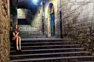 Composición fotográfica - El Call de Girona