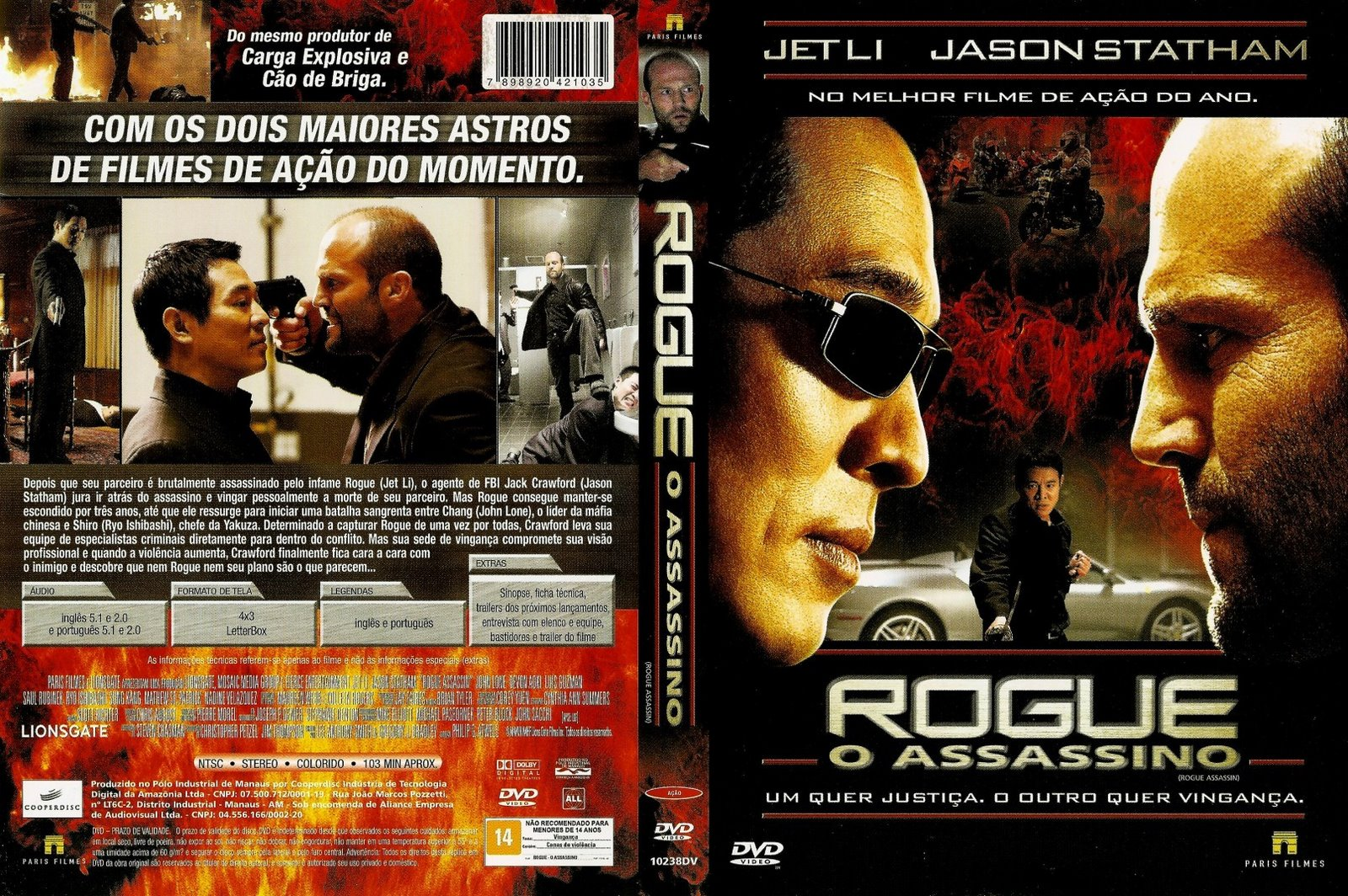 download rogue o assassino dvdr