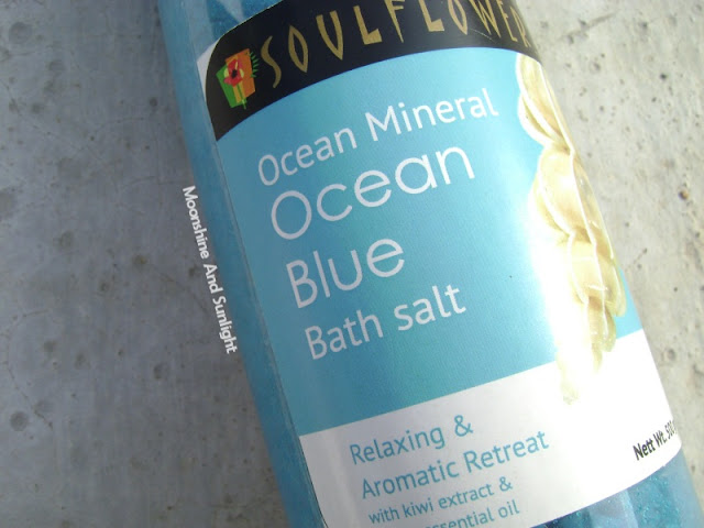 Soul flower Ocean Mineral Ocean blue bath salt