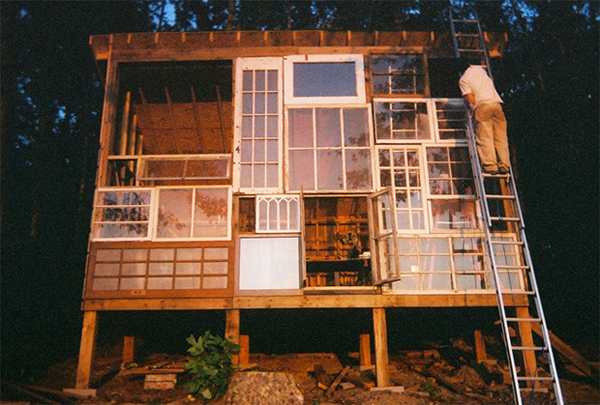 Couple Built a House of Windows