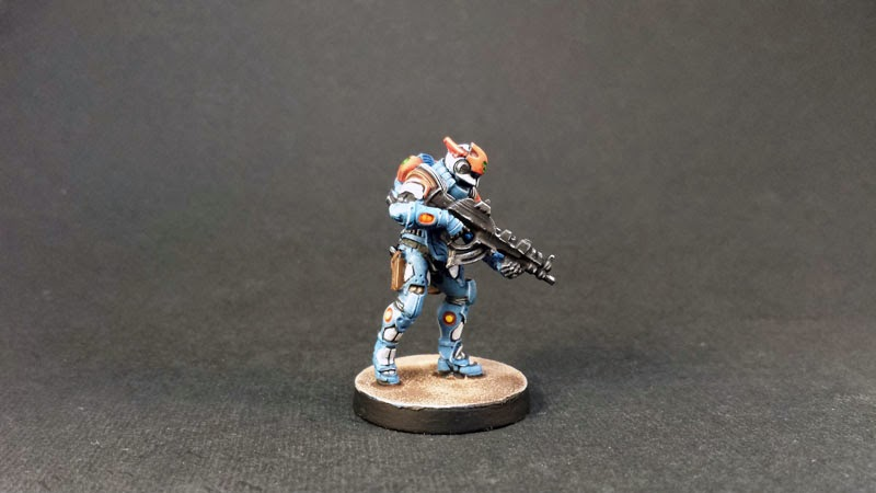 NEOTERRA CAPITALINE ARMY SECTORIAL STARTER PACK- PANOCEANIA - INFINITY THE GAME - Combi Rifle + Light Shotgun 5