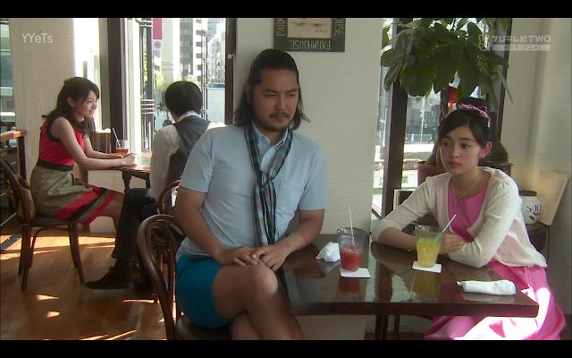 Sudo Senpai and Kotoko eavesdropping on Naoki and Matsumoto San's date.