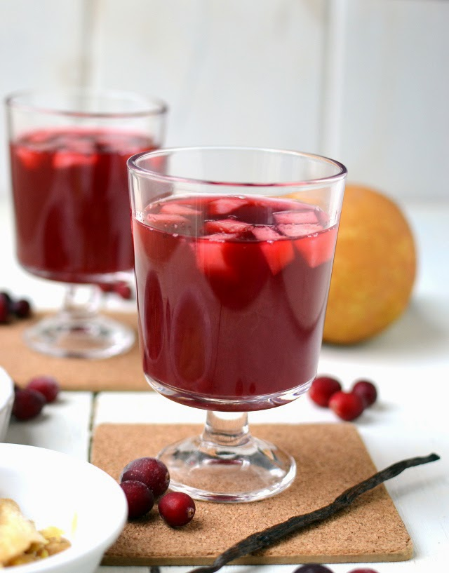 Spiced Cranberry Pear Cider