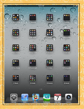 iPad Organization in K