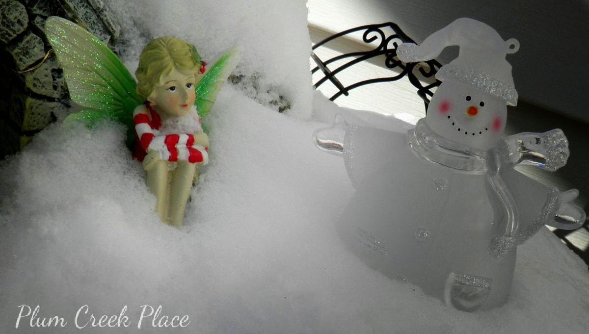 Plum Creek Place Winter Fairy Garden