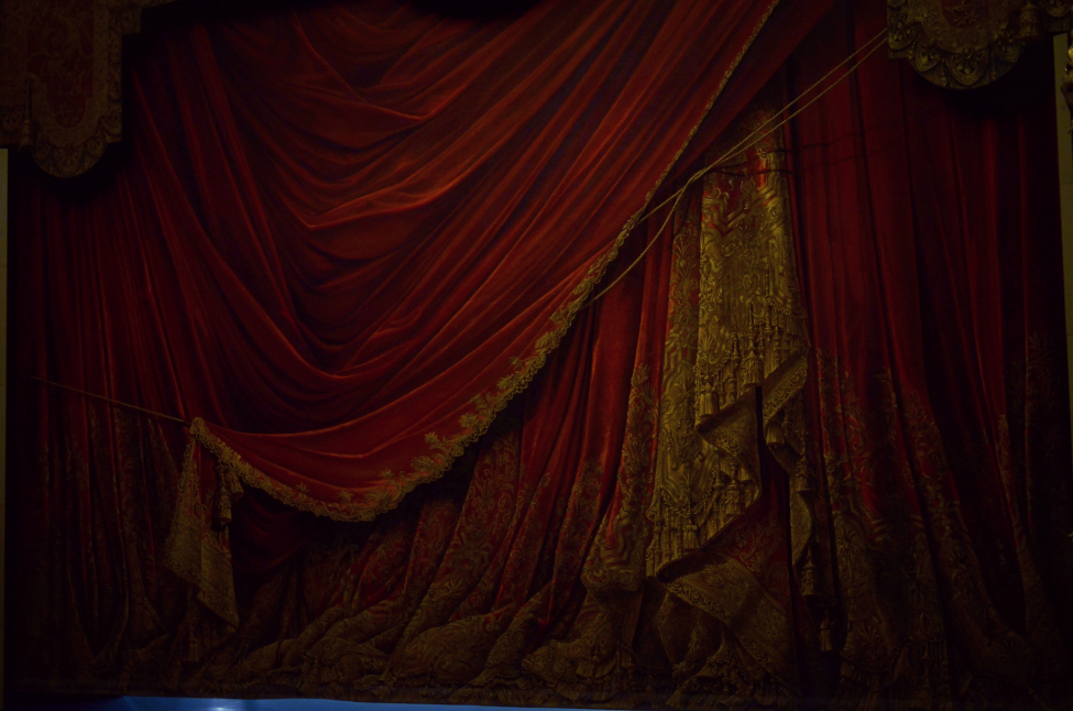 trompe l'oeil, decorations at the opera garnier in paris