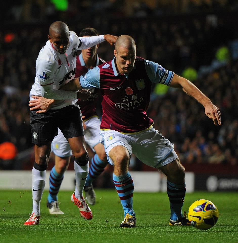 Barclays Premier League Man U Vs Aston Villa