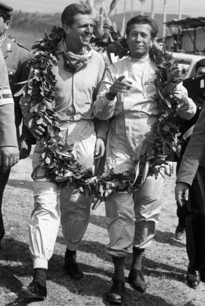Wolfgang Von Trips et Olivier Gendebien (1961)
