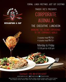 Corporate lunch restaurant Bangalore