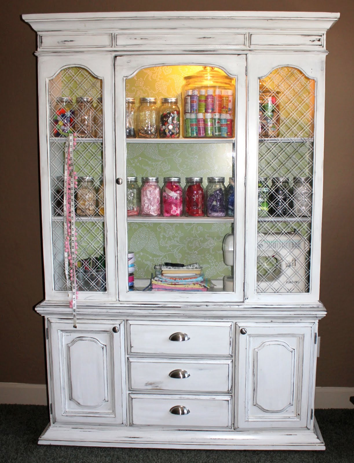 Craft hutch DIY