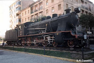 Loc- de vapor 240-2072 en una glorieta .