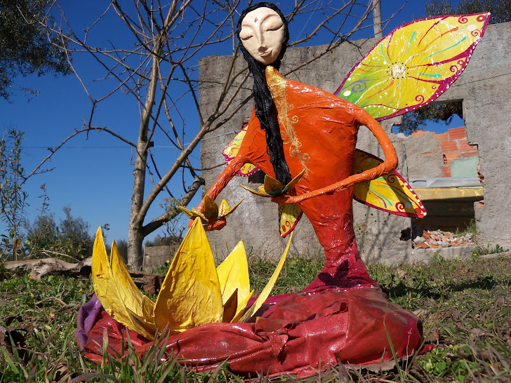Fada Buda in the garden 2