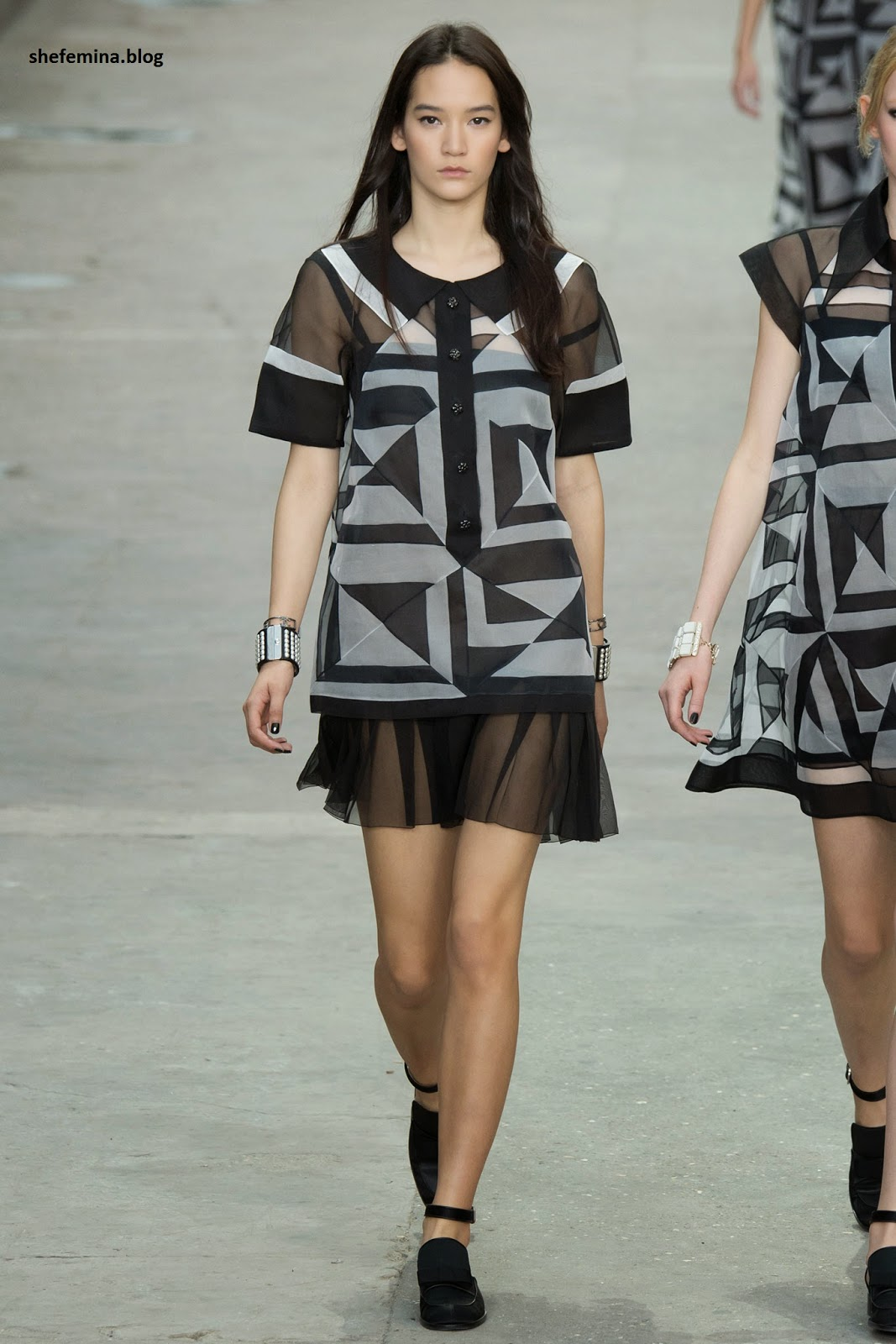 Chanel Spring 2015 dresses HD wallpaper 31