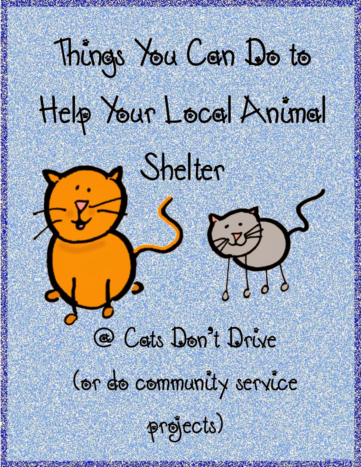 Things your can do to help your local animal shelter