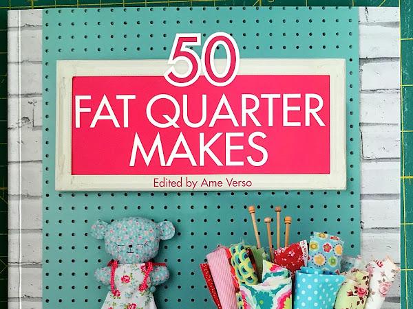 50 Fat Quarter Makes {Book Review}