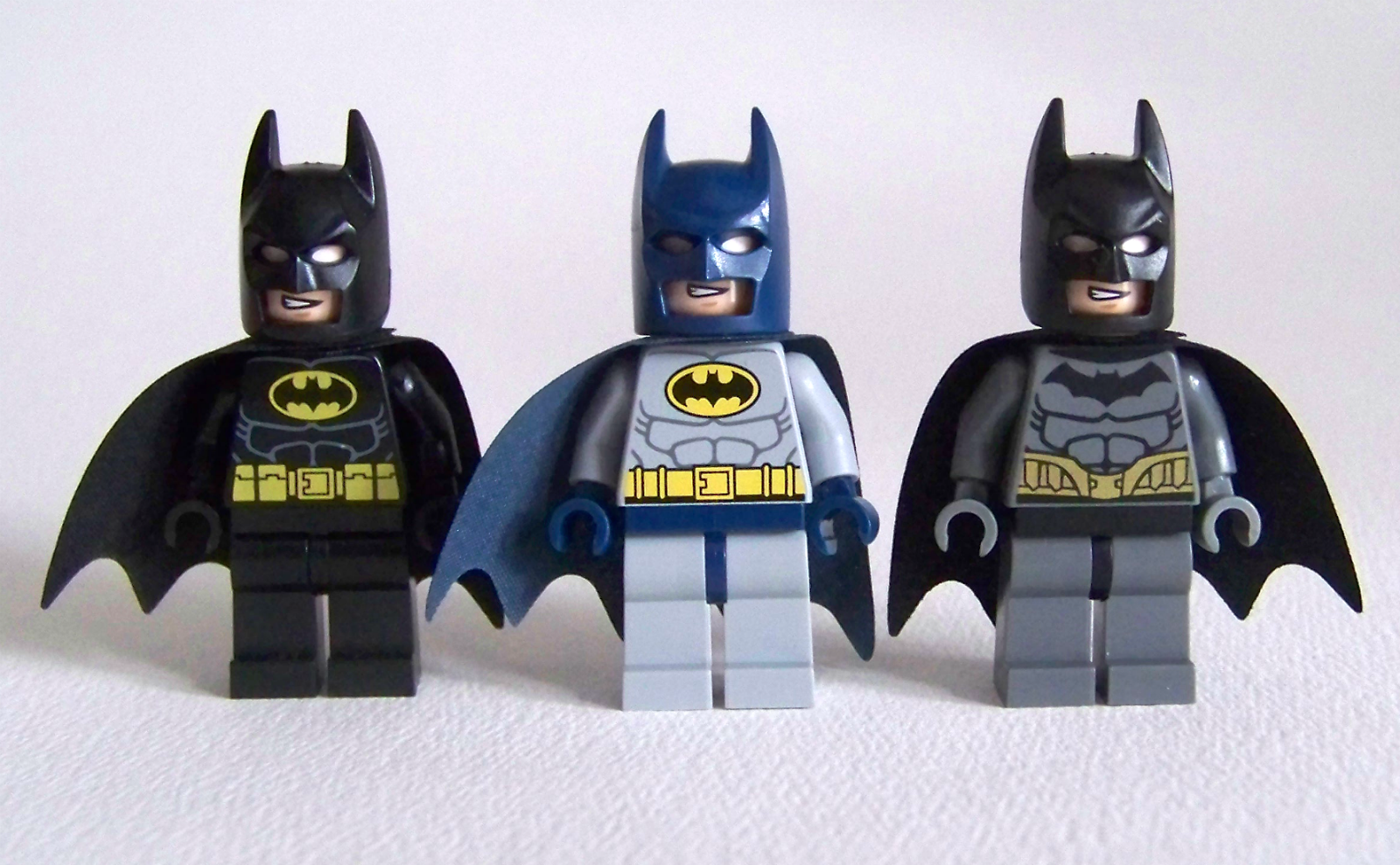 LEGO Batman comparison variants