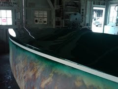 Gar Wood 16' - Slick painted fiberglass bottom