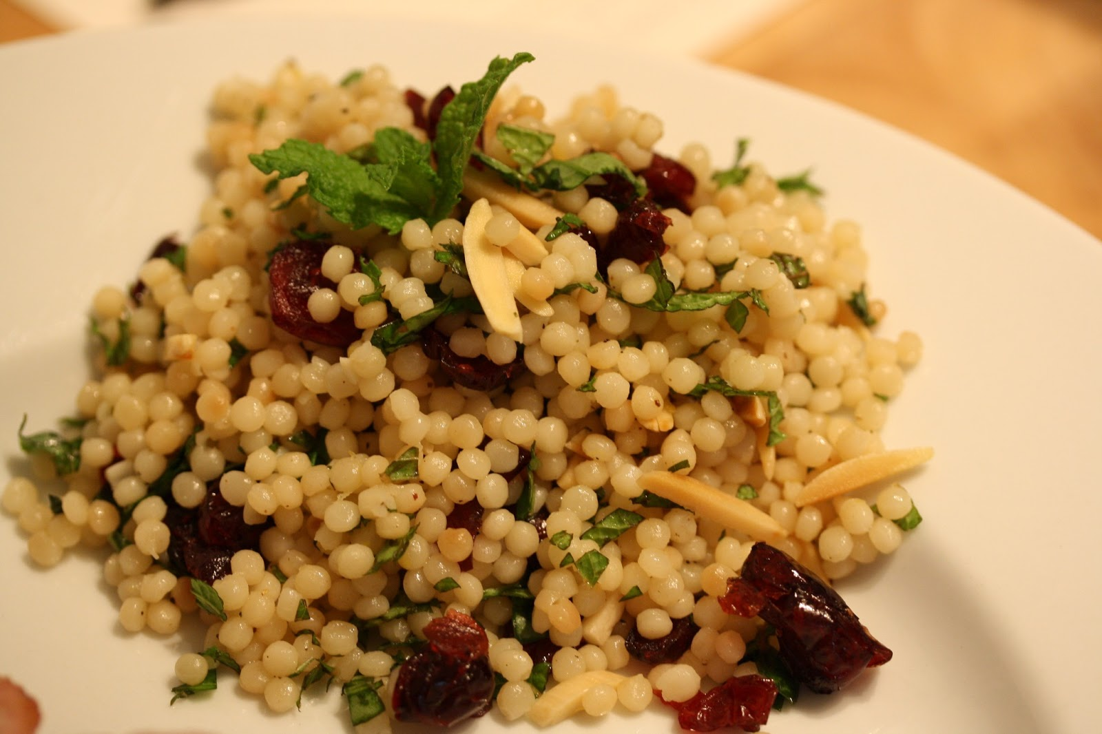 Hot Dinner Happy Home: Mediterranean Couscous Salad