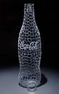 Karya Seni Indah Patung dari Kaca