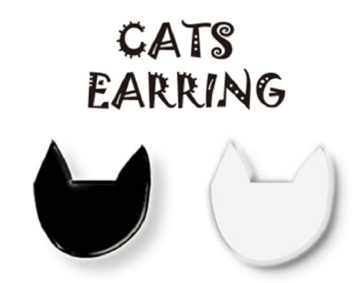 ODDLEE Cats Earring