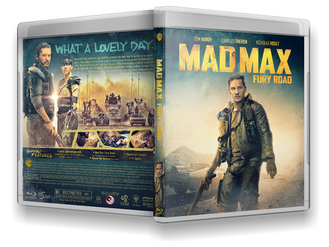 Capa Bluray Mad Max Fury Road