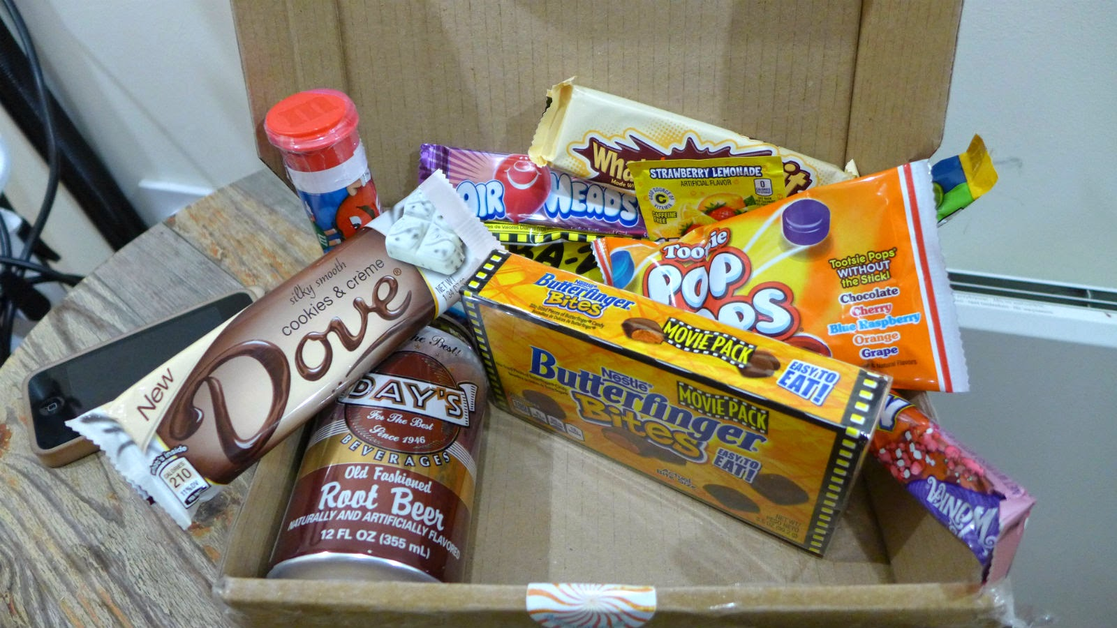 Taffy Mail Review Subscription Box American Candy