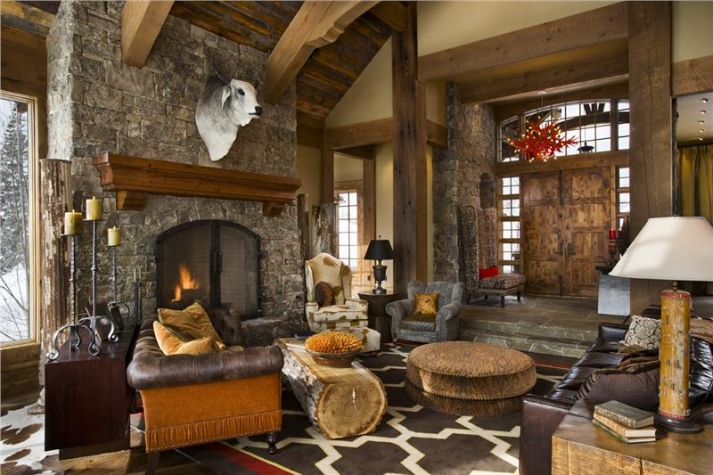 Western Style Decorating Ideas - Interior Design