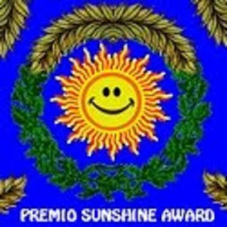 BLOG PREMIADO, SUNSHINE AWARD.