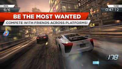 Game NFS Most Wanted 1.3.68 ApkAndroidFull Mega MOD