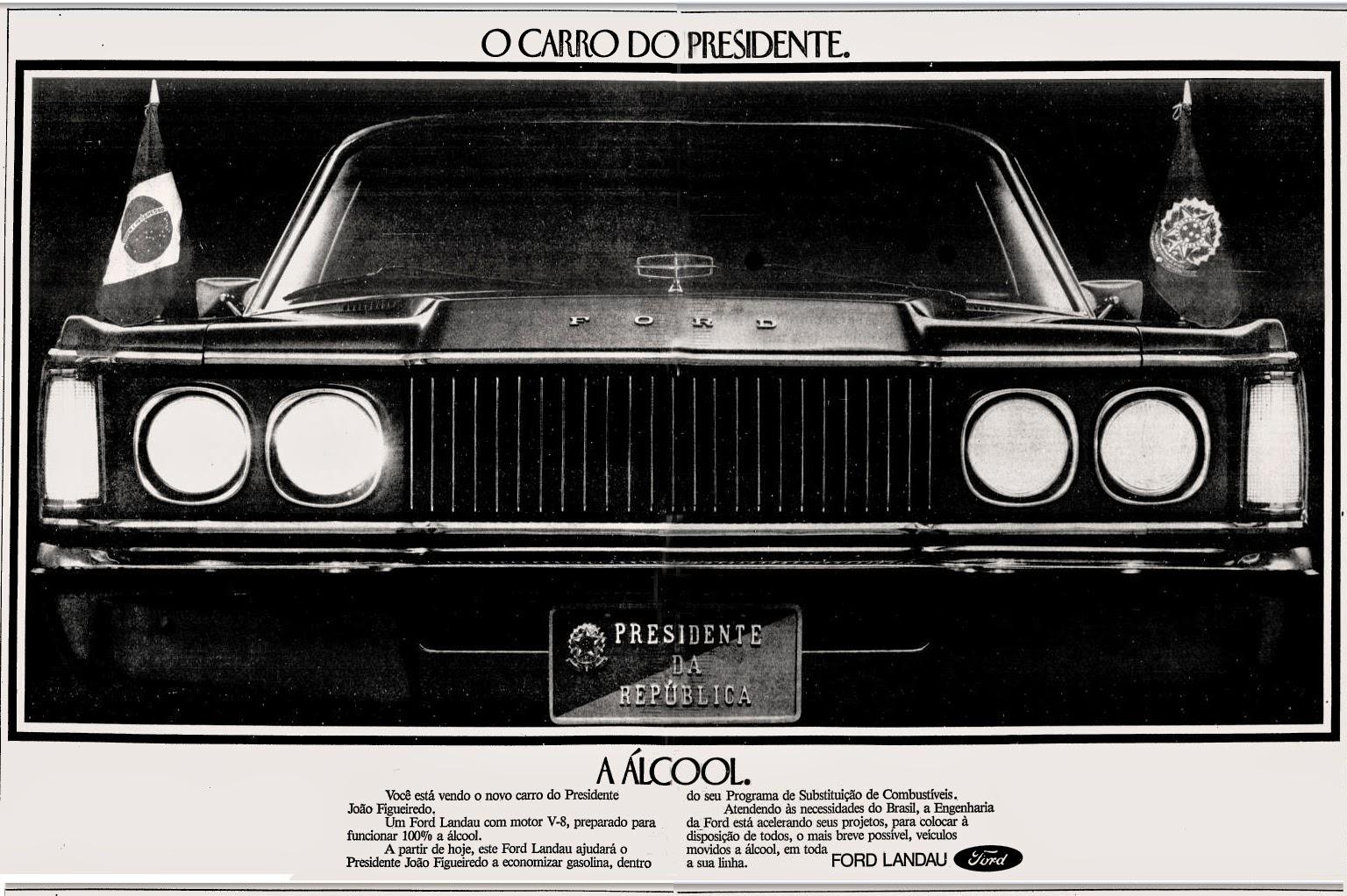 Ford. propaganda anos 70. propaganda carros anos 70. reclame anos 70. Oswaldo Hernandez.