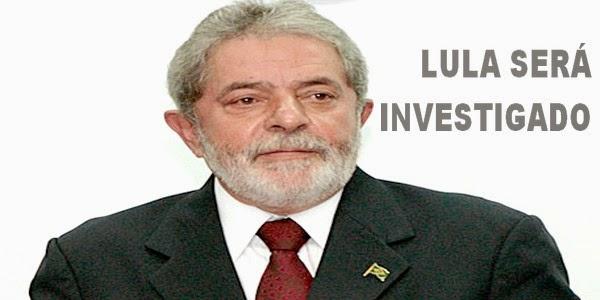 MP ABRE INQUÉRITO PARA INVESTIGAR O EX-PRESIDENTE LULA