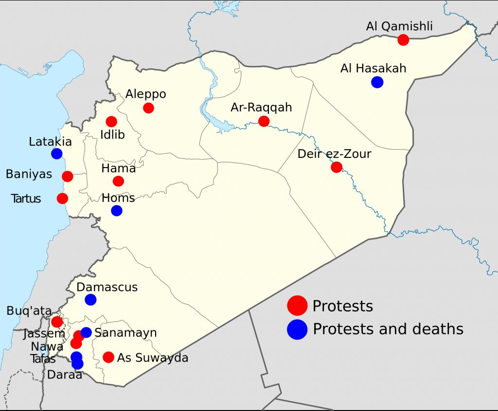 Siria: la favola grottesca della rivoluzione tradita