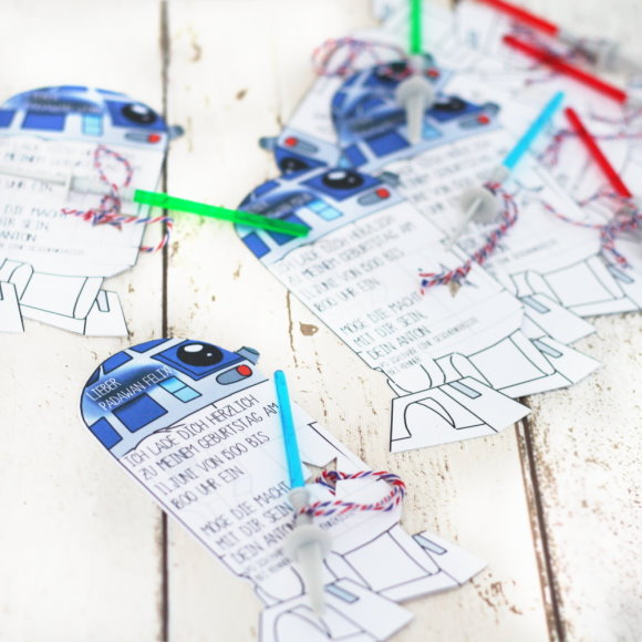 star wars party preps {& give away} - titatoni | blog - diy - food, Einladung