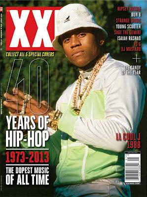 ll cool j portada de la revista xxl edicion especial 40 años de hip hop