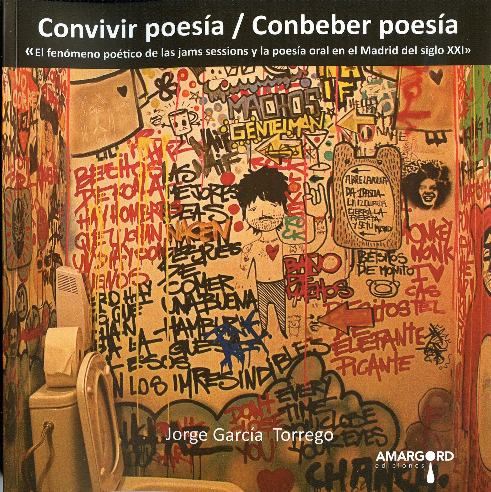Convivir poesía Conbeber poesía / Amargord / 2018