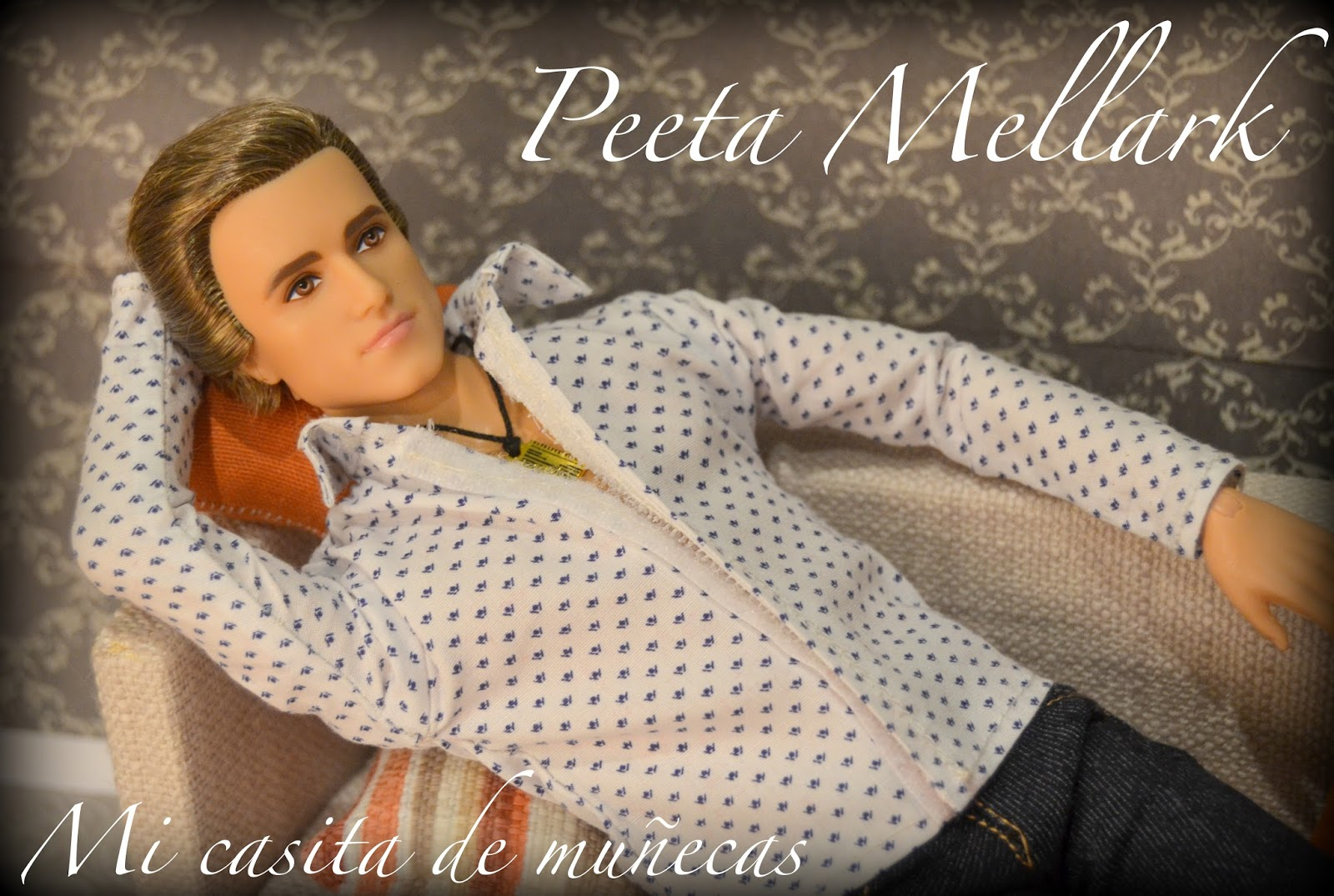 Peeta Mellark, Los juegos del hambre, The hunger games, Ken Peeta, En llamas.
