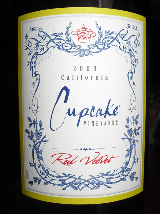 Is Cupcake Red Velvet Wine Sweet