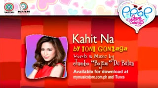 Kahit Na by Toni Gonzaga Lyrics & Video | Himig Handog P-Pop Love Songs