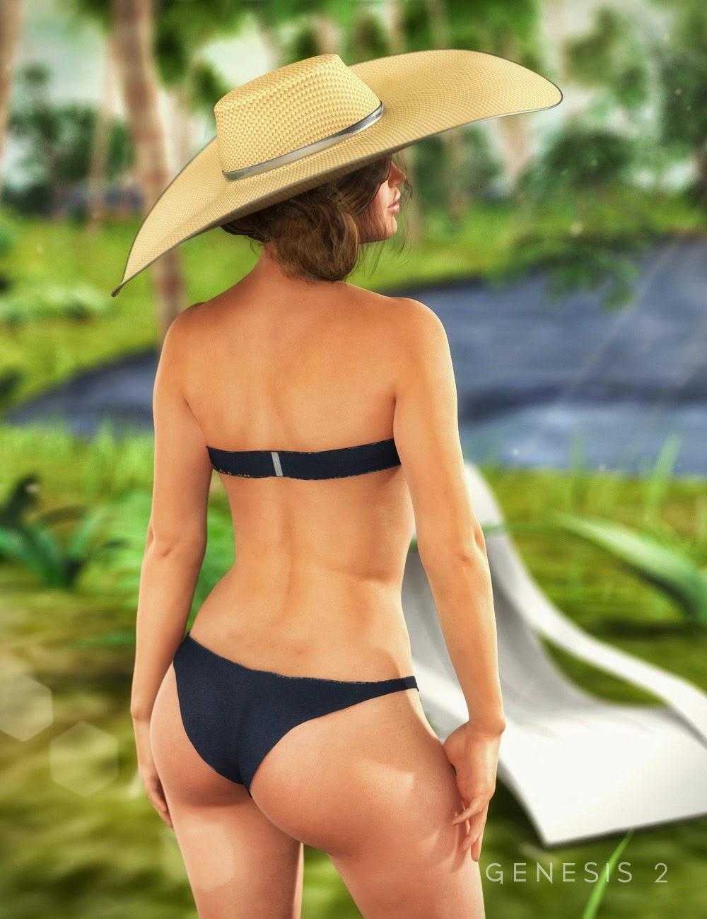 RW mer Bikini pour Genesis 2 Femme